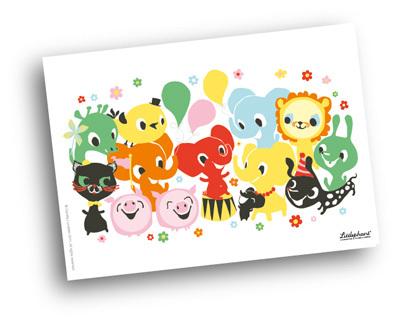 Card Little Relatives