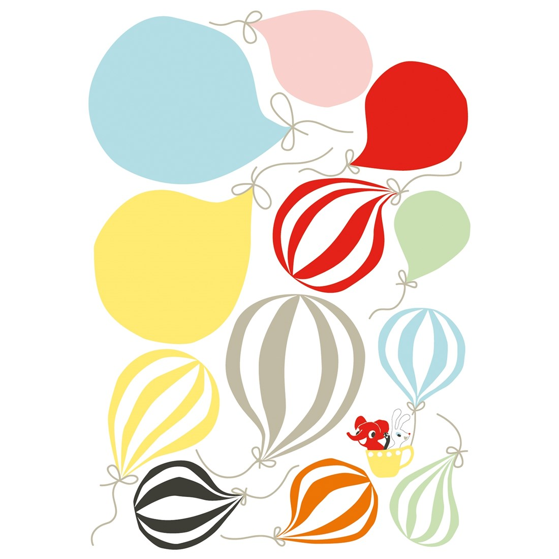 Wallsticker Ballons