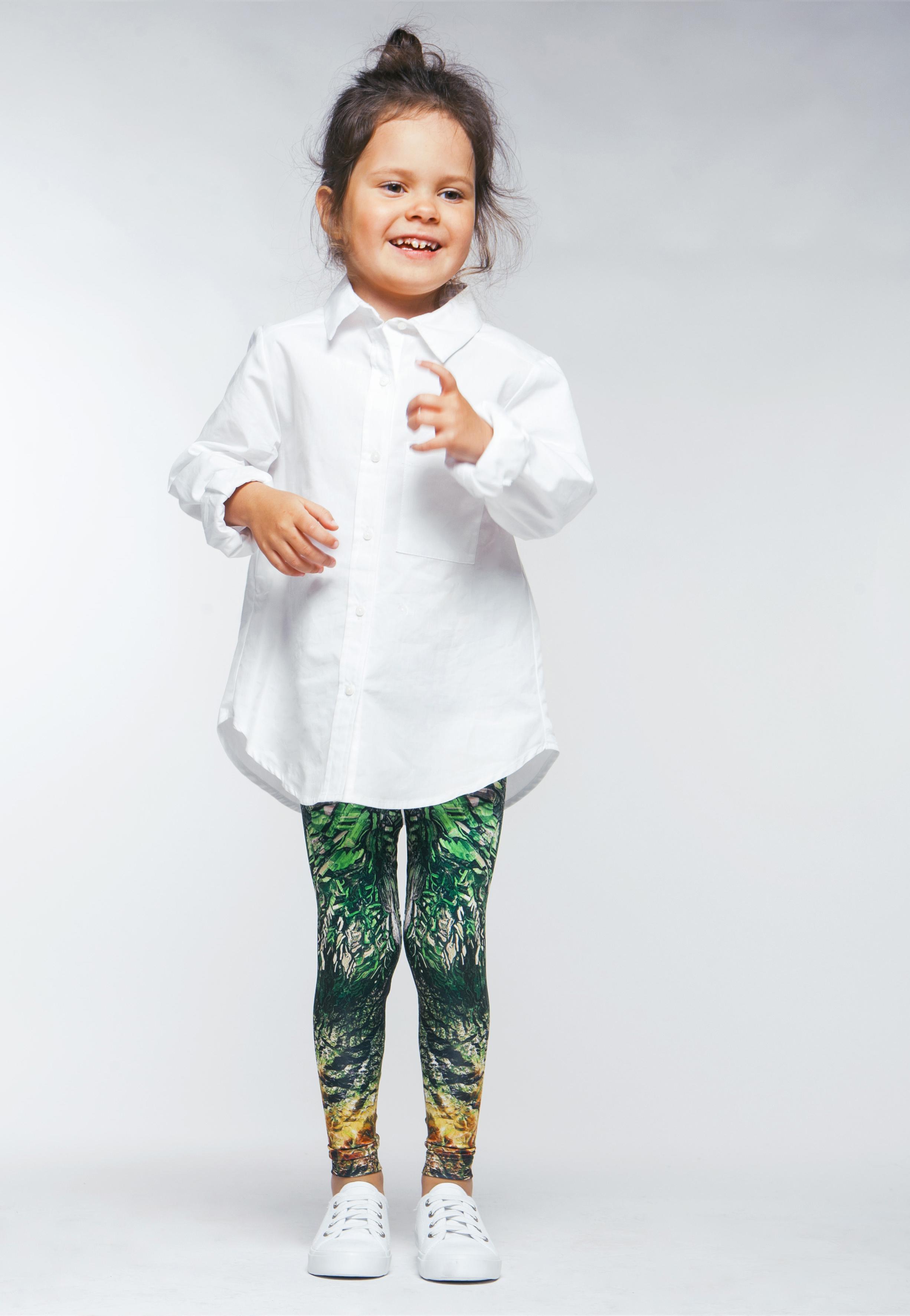 Kazakhstan kids leggings