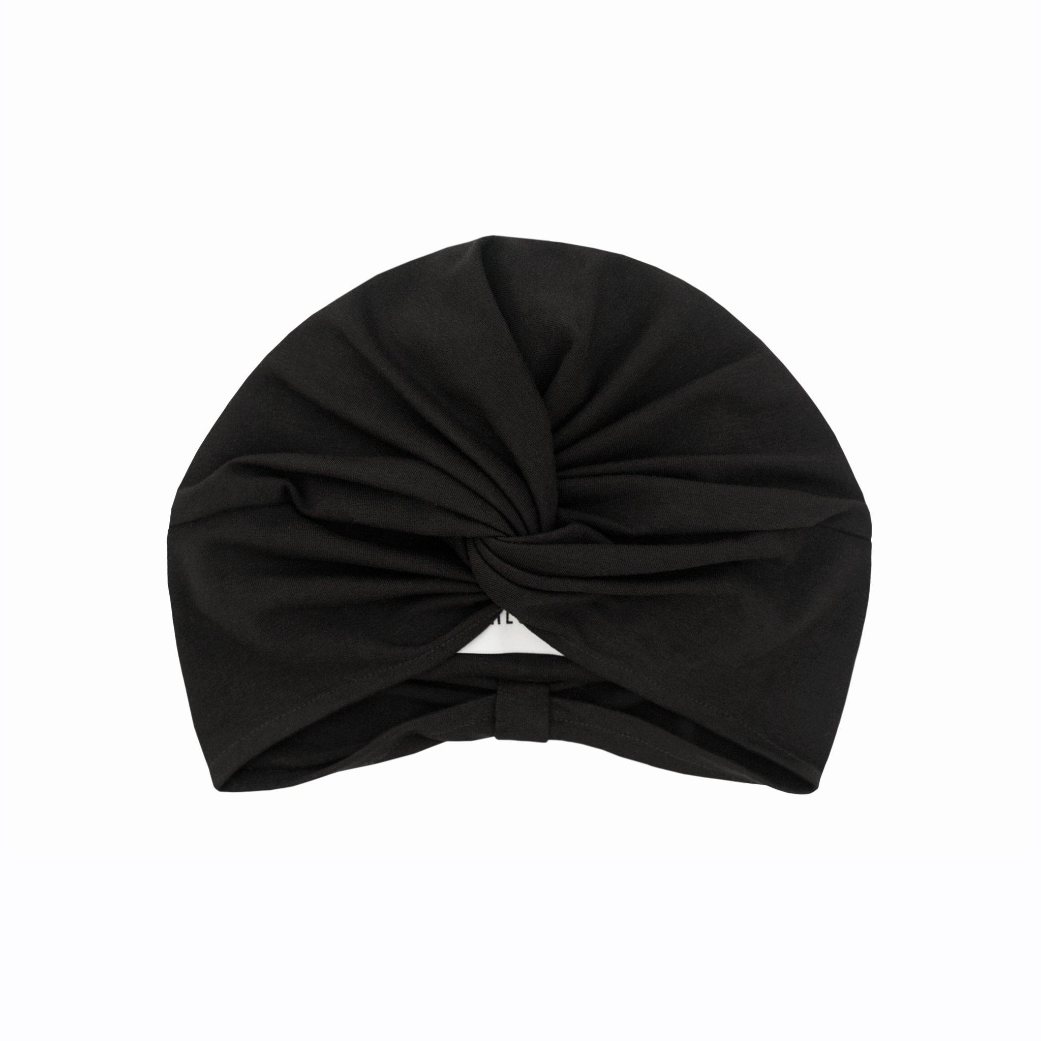 Amanda turban black
