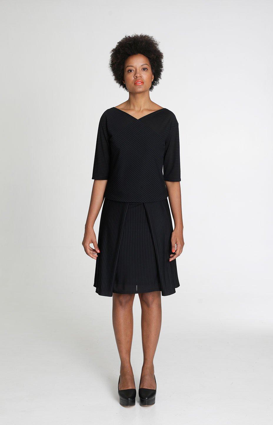 Sparkle shirt black