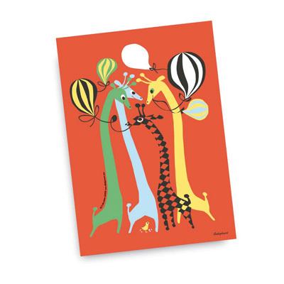 Card Giraffes