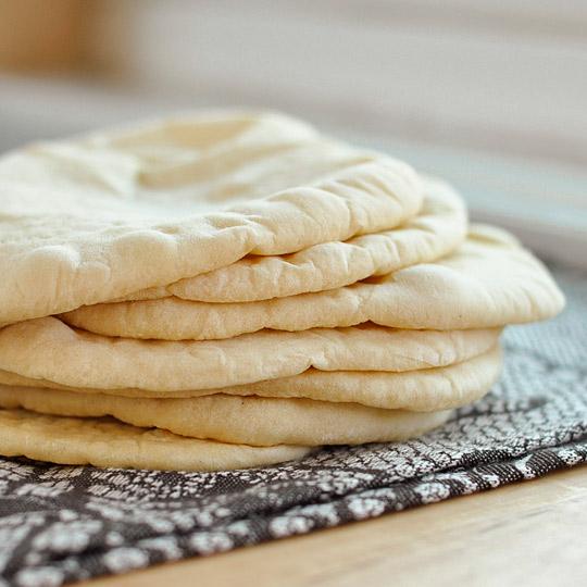 Pitta Bread x6