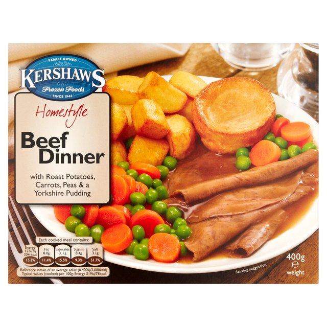 Roast Beef Dinner 400g