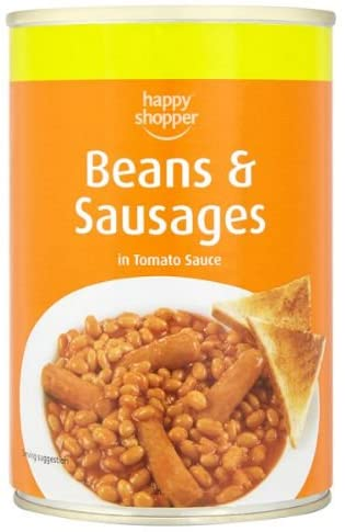 Beans and Sausage 420g