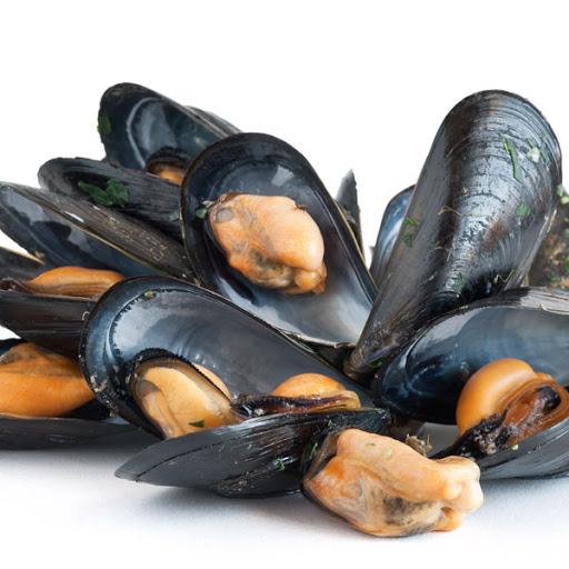 Mussels (In shell, cooked, 1kg)
