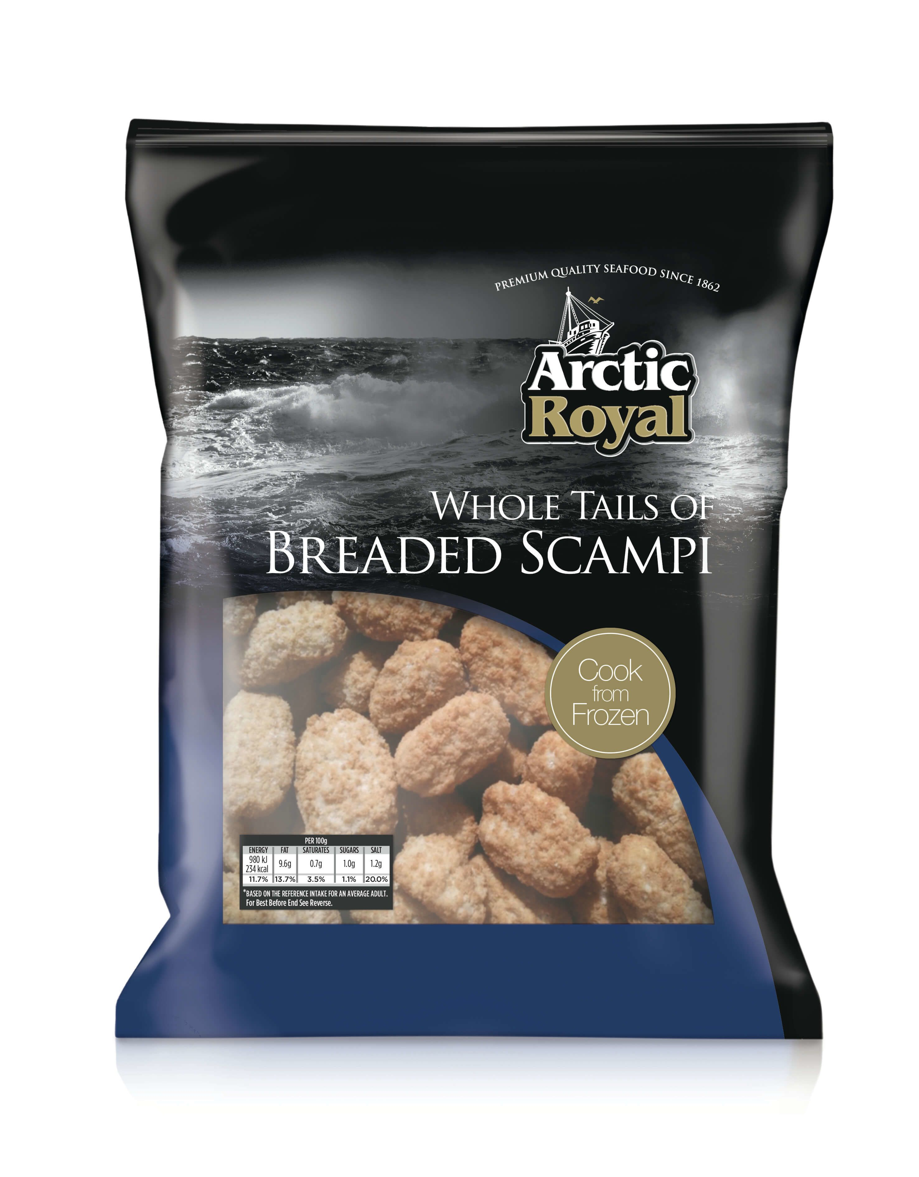 Wholetail Scampi 454g