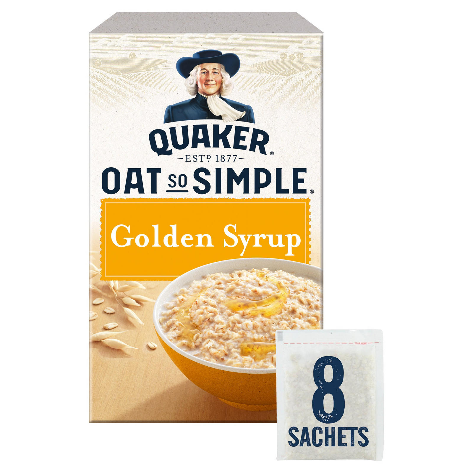 Quaker Oat So Simple, Golden Syrup