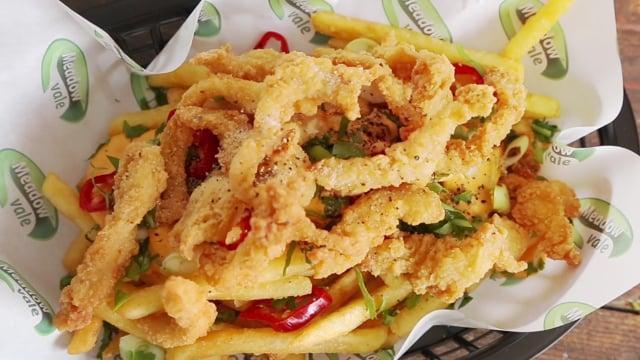 Salt & Pepper Shredded Chicken 1kg