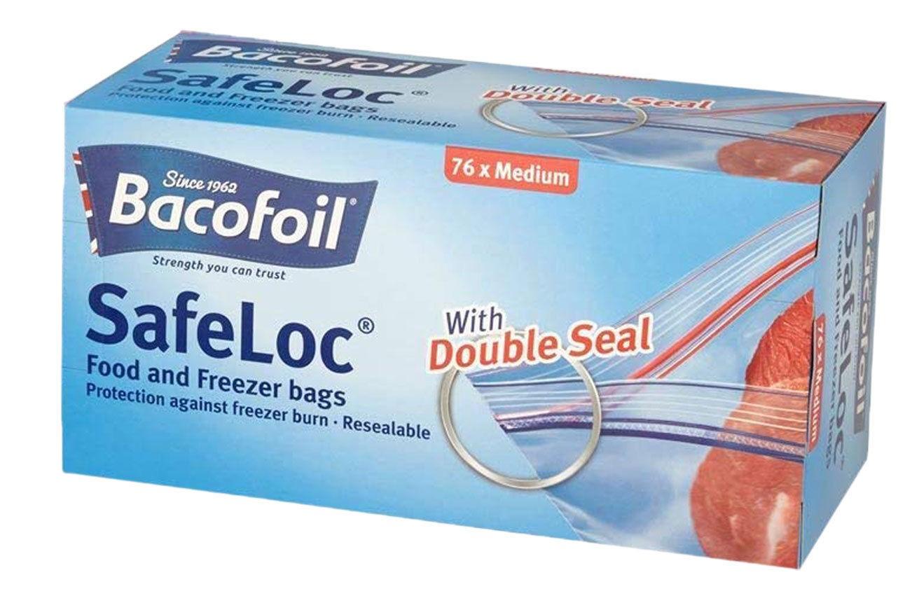 Bacofoil Safelock Bags x76 Medium