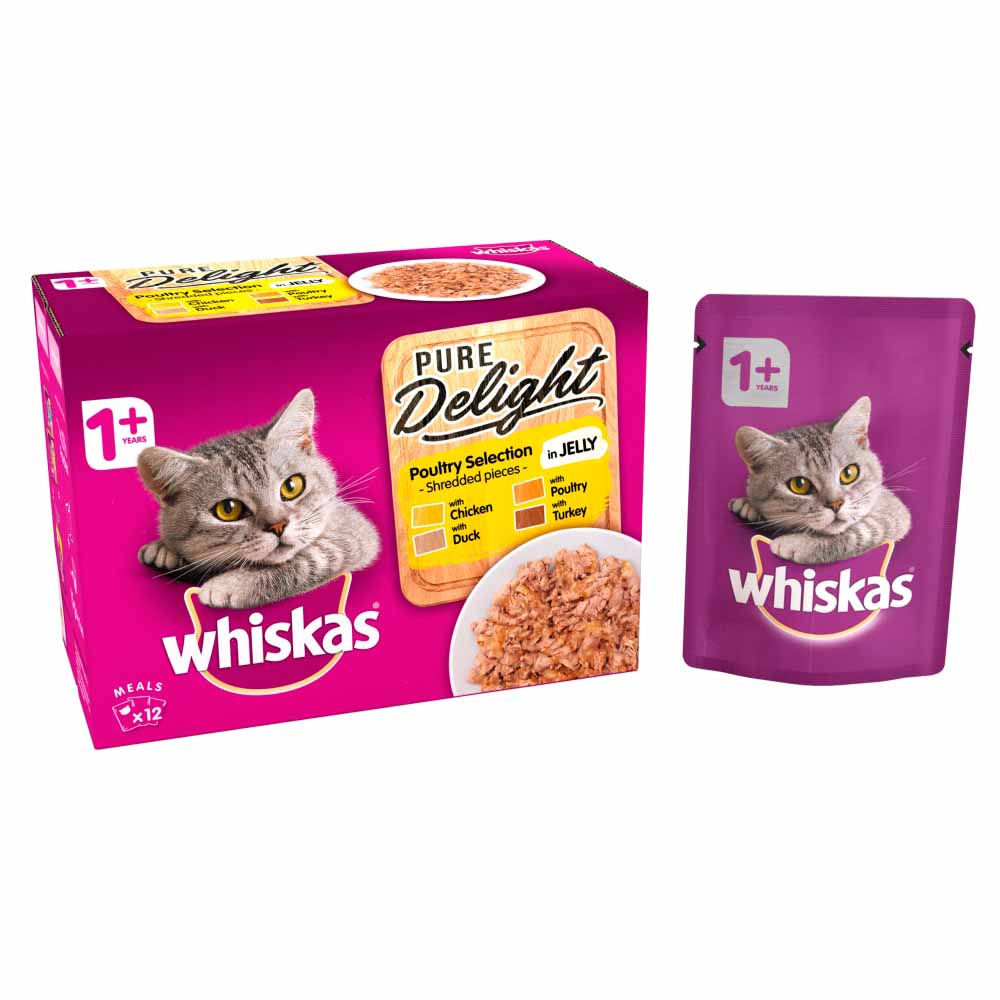Whiskas Pure Delight in Jelly 12x