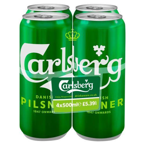Carlsberg 4x500ml