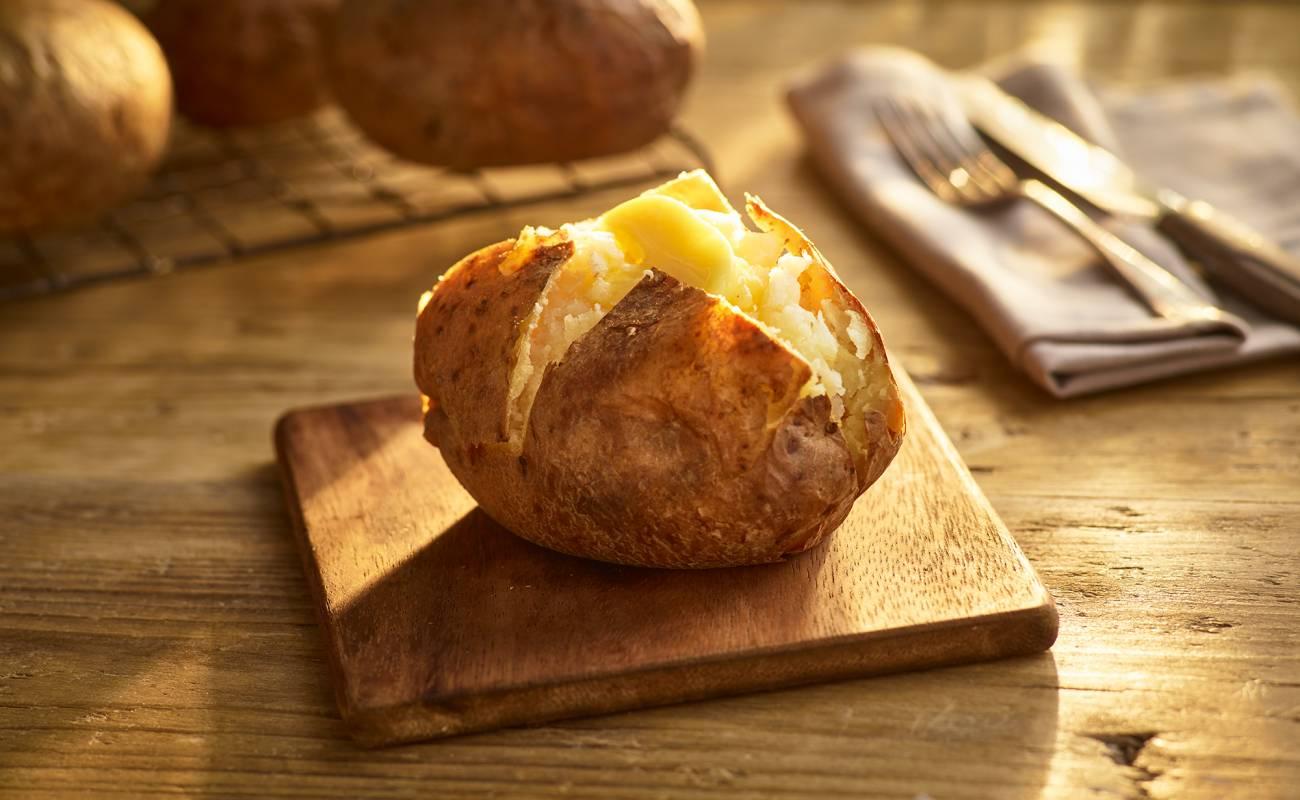 Ready Baked Jacket Potatoes x10