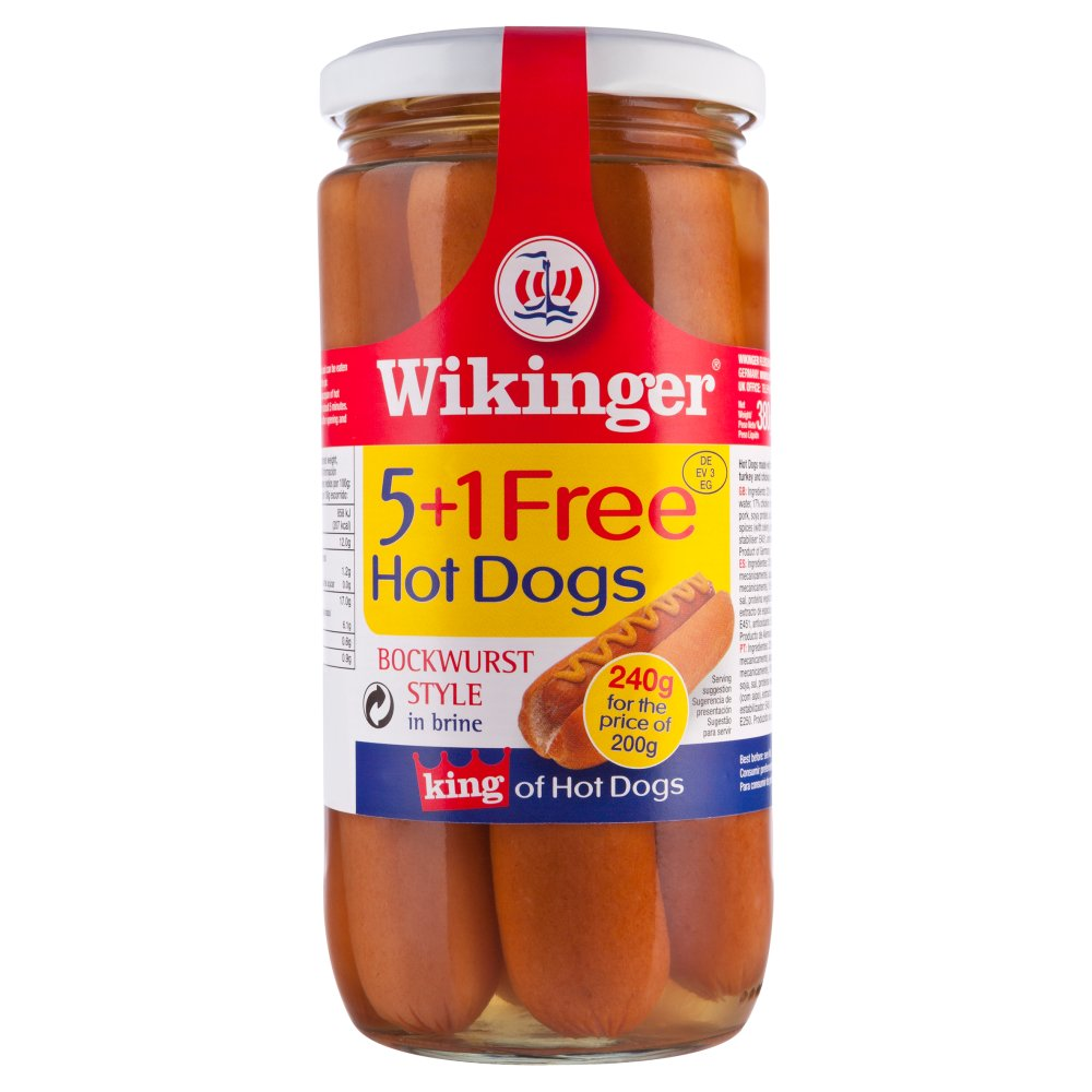Winkinger Hot Dogs 5+1 Free