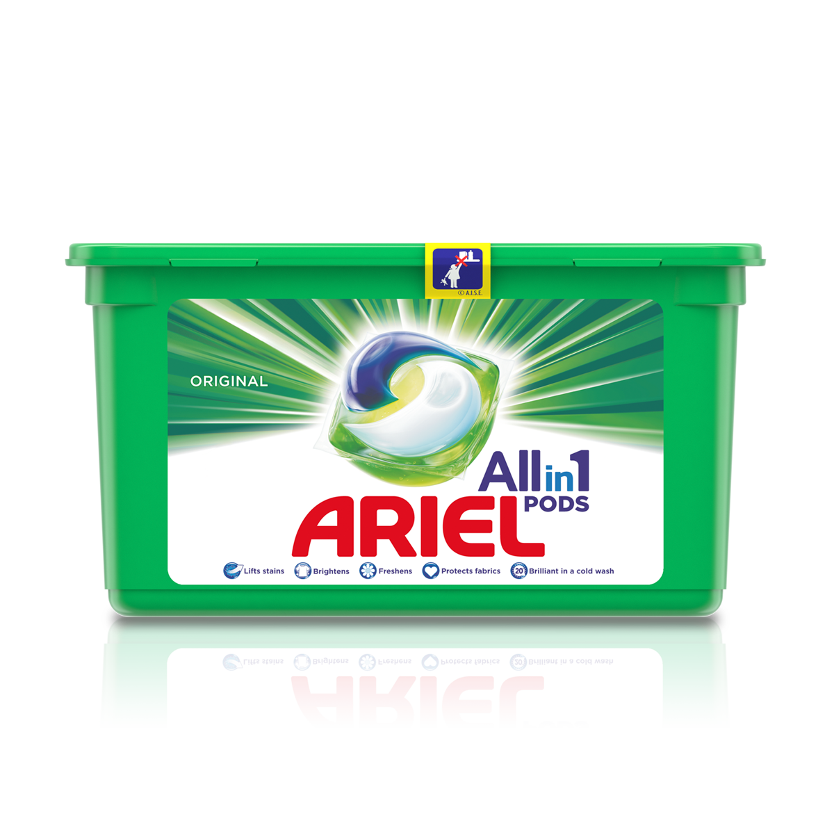 Ariel All-in-1 Pods (35 pack)