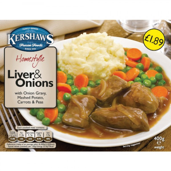 Liver and Onions 400g