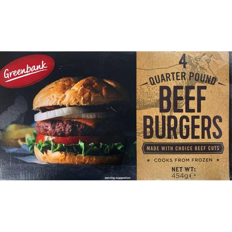 Beef Burger ¼lb x4