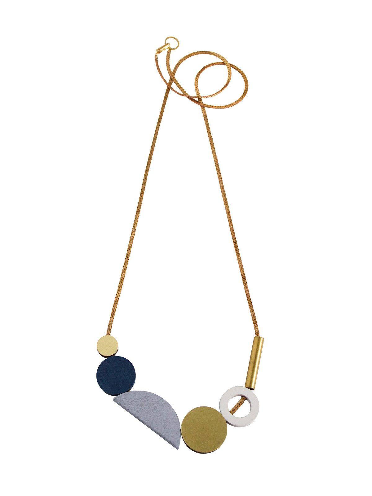 Composition Necklace Large