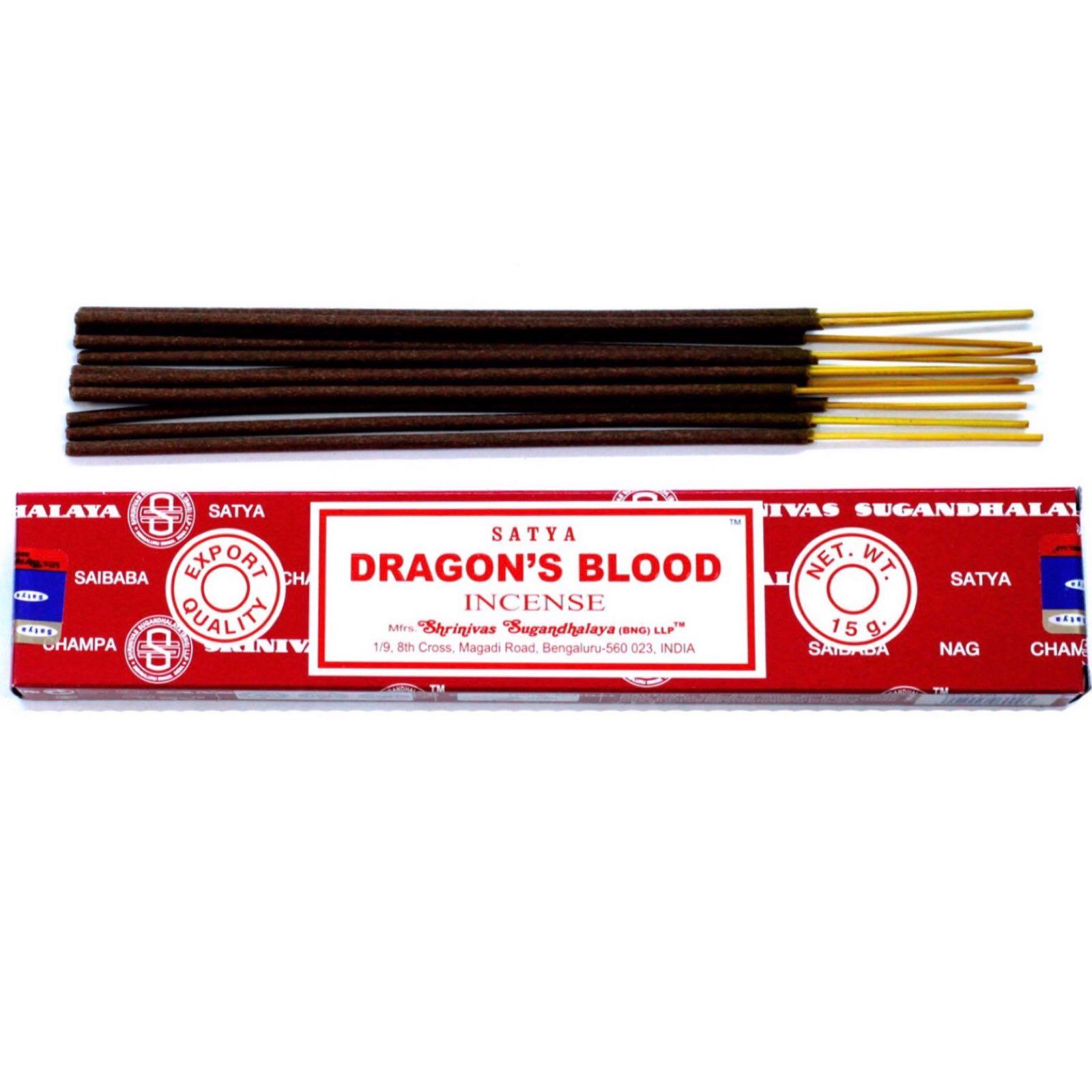 'Dragon's Blood' Incense Sticks (Was £1.85)