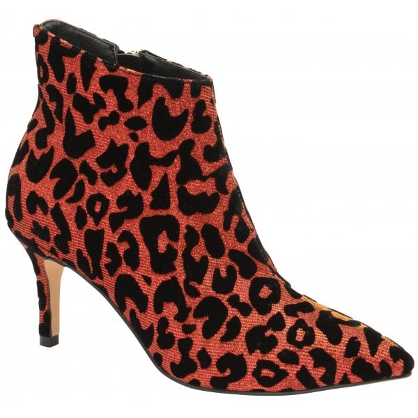 Ravel Renwick Red Sparkle Leopard