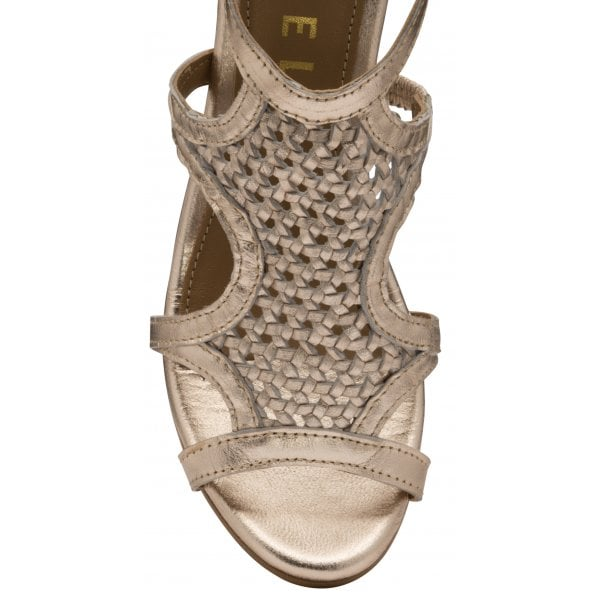 Ravel Coreen Rose Gold Shoe Boot Block Heel