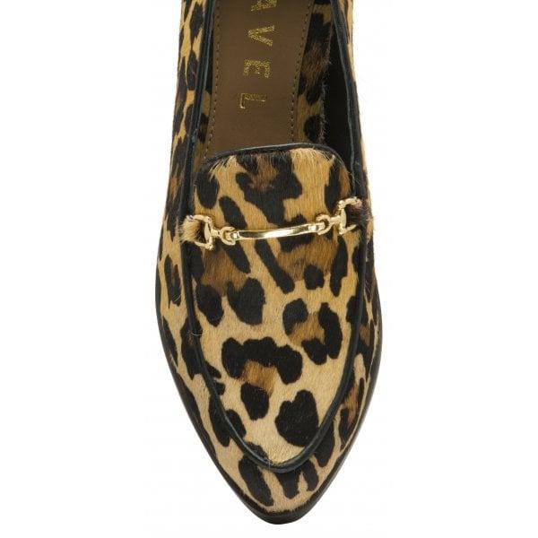 Ravel Tapora Leopard Pony Loafer