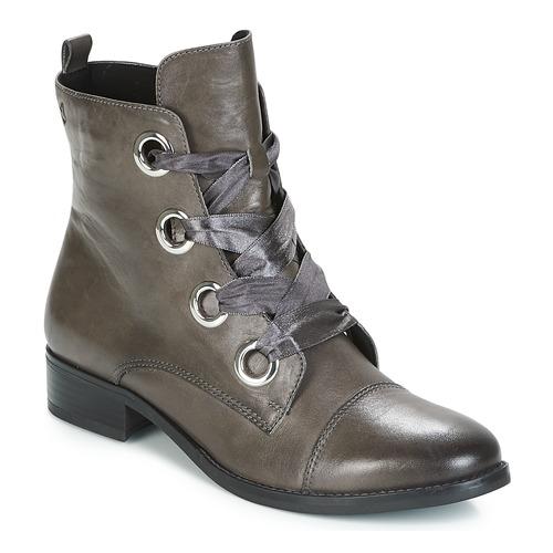 Caprice Dark Grey nappa ankle boot