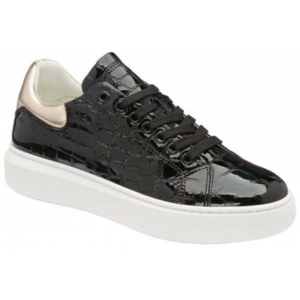 Ravel Tully Black Champagne Trainers