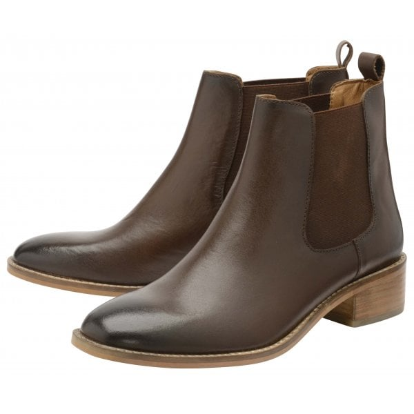 Ravel Dickens brown leather ankle boot