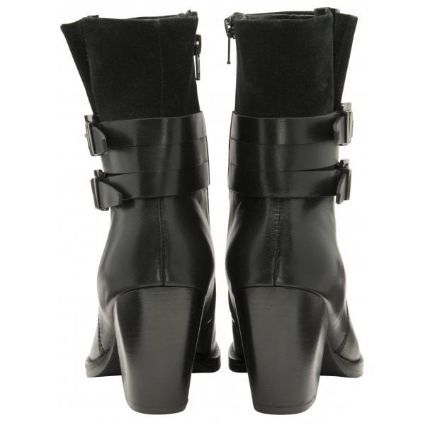 Ravel Shores 3/4 length Leather/Suede Mid Heel Boot