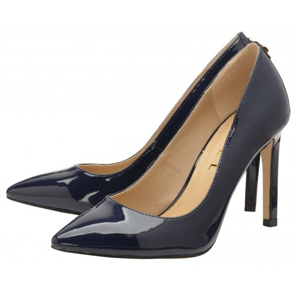 Ravel Edson Navy Patent Court Shoe