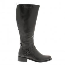 Moda in Pelle Tulip Knee Boot Black