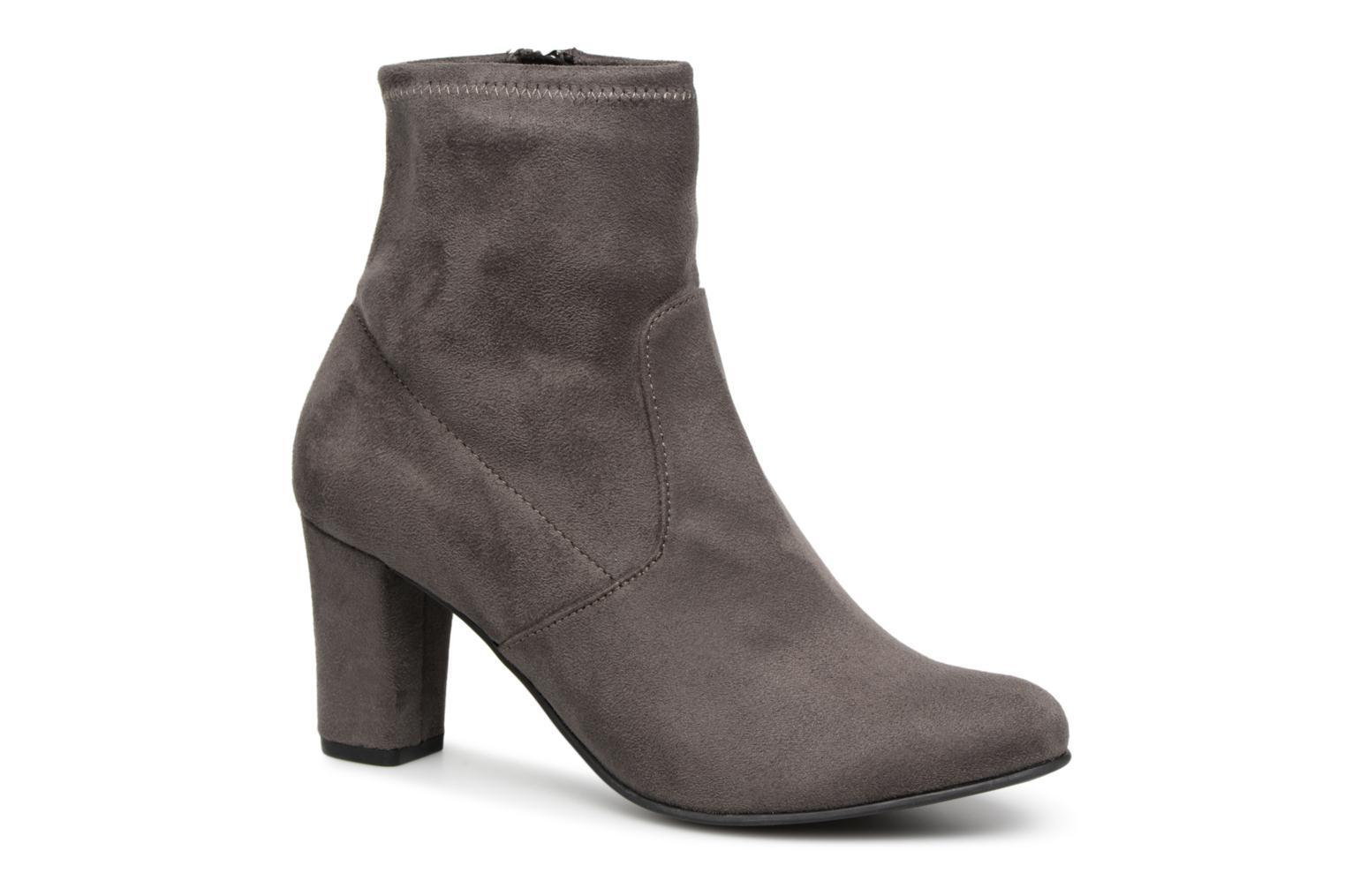 Caprice Ankle Boot Dark Grey Stretch