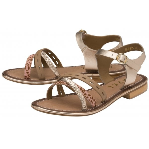 Ravel Cudal Birch Leather Strappy Sandal