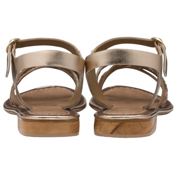 Ravel Cudal Birch Leather Strappy Sandal