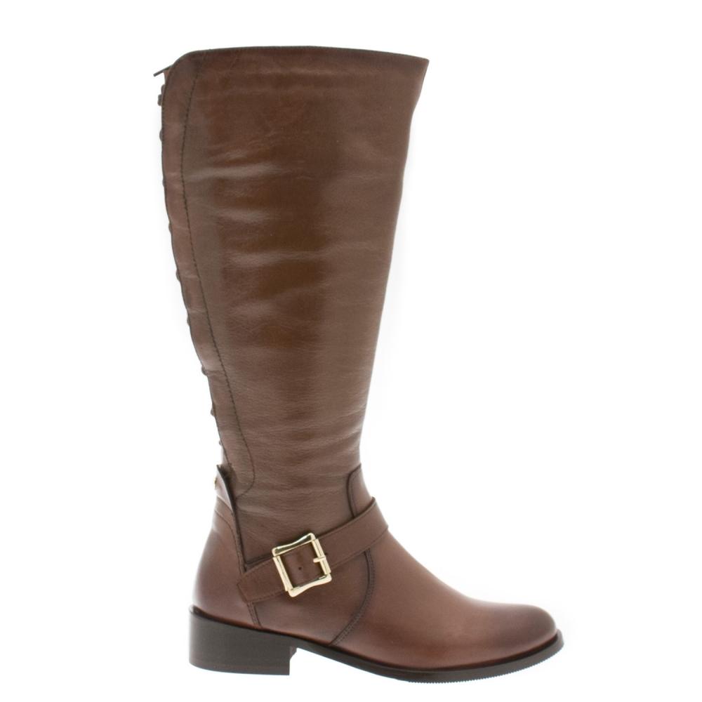 Moda in Pelle Tulip  Knee Boot Tan