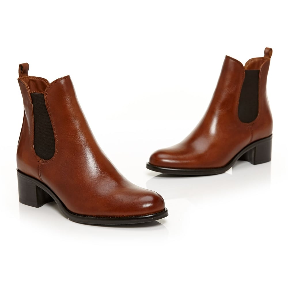 Moda in Pelle Colina Brown Ankle Boot