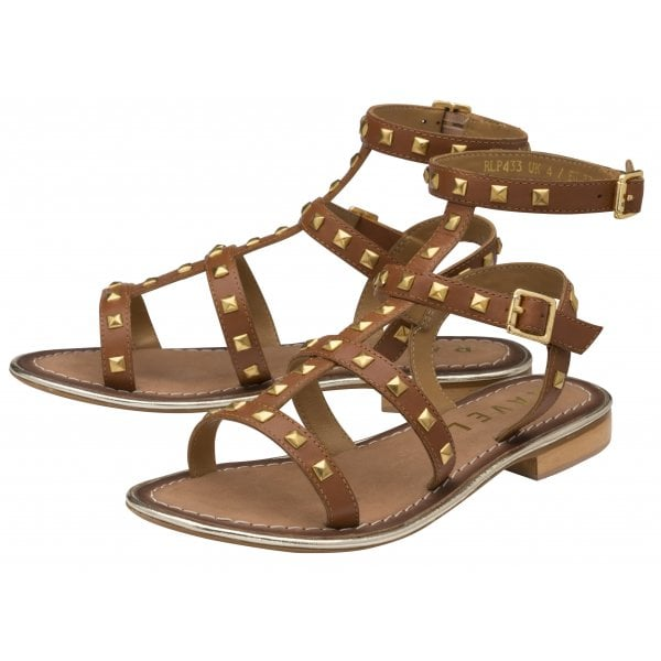 Ravel Parker's Gladiator Rock Stud Sandals