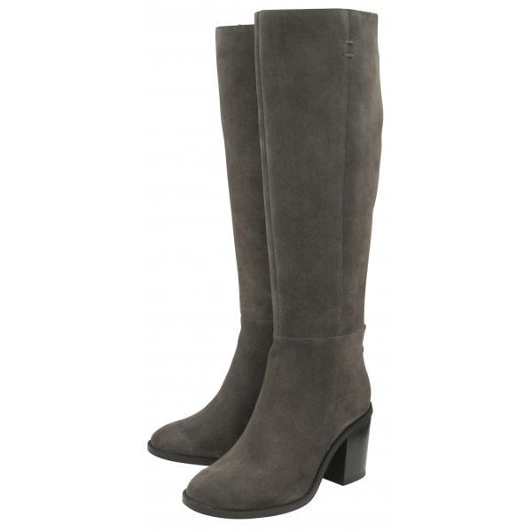 Ravel Albury Grey Suede Knee Boot
