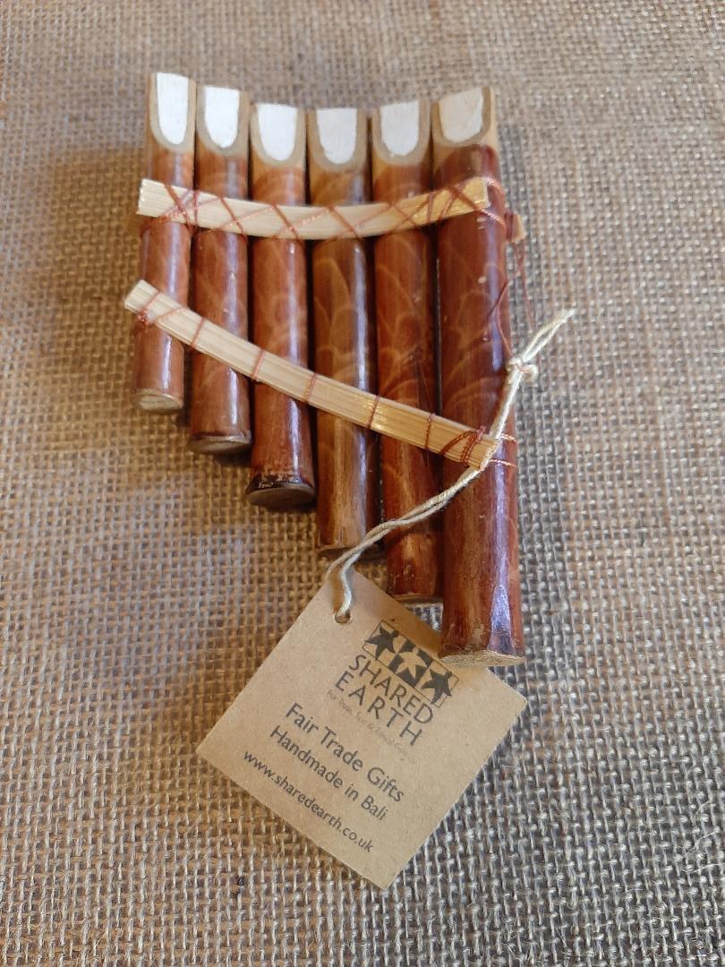 Bamboo Pan Pipes