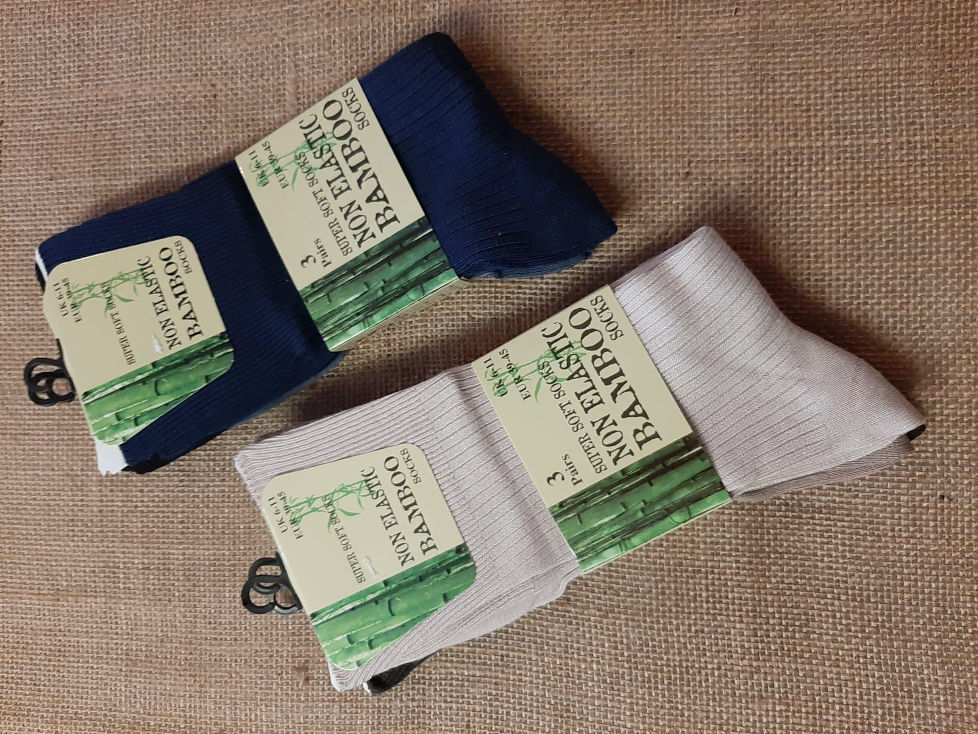 Socks Men's Plain Dark/Light