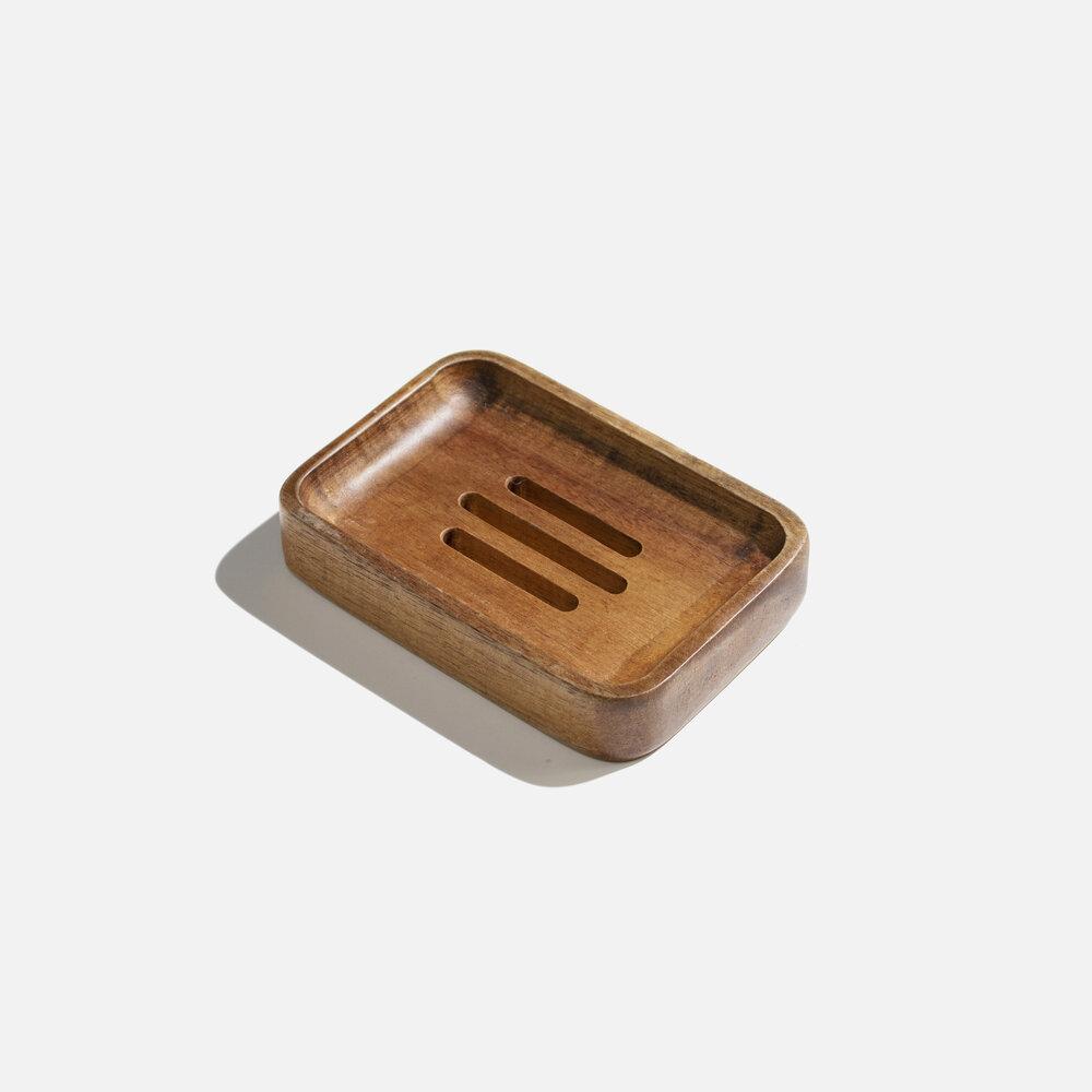 Soap Dish Acacia Wood