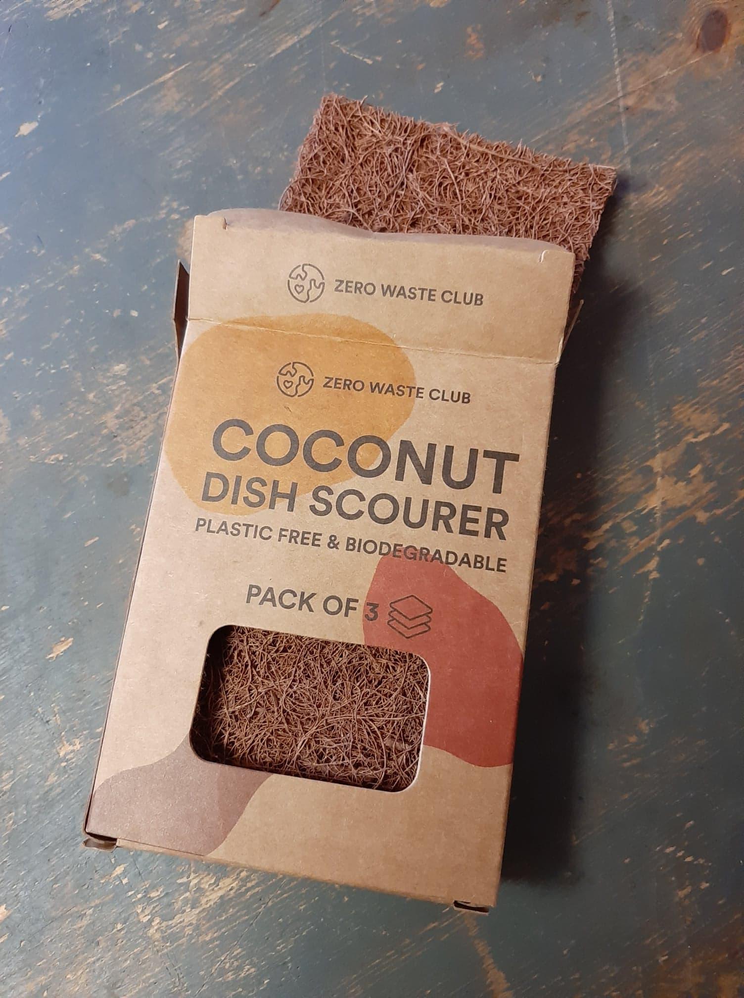 Coconut Dish Scourers