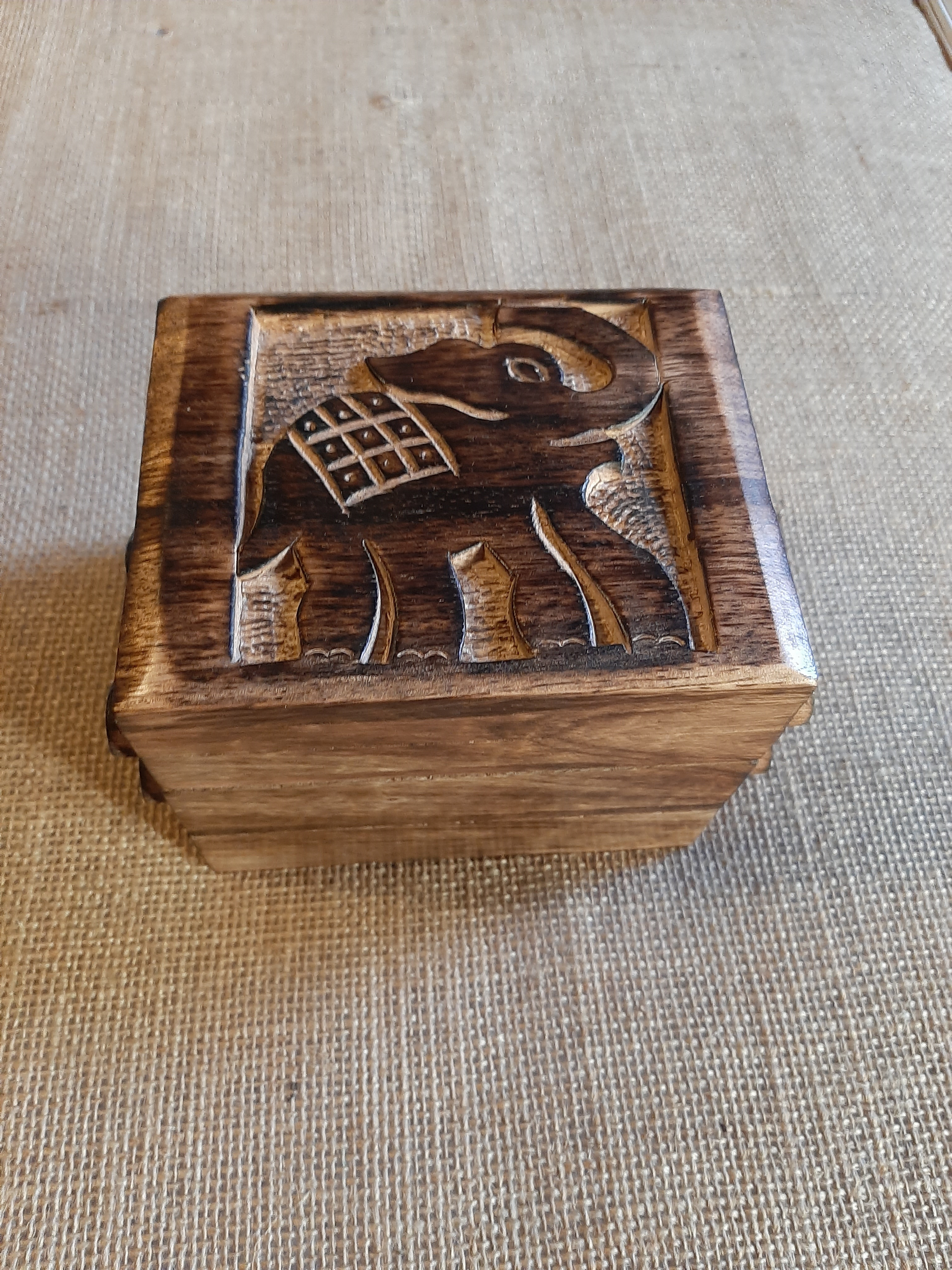 Elephant Jewellery Box