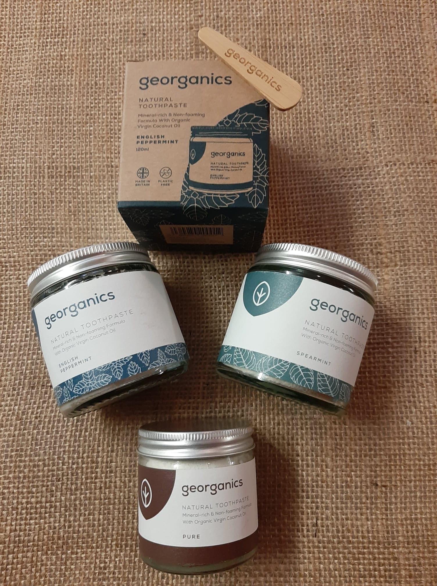 Toothpaste Georganics