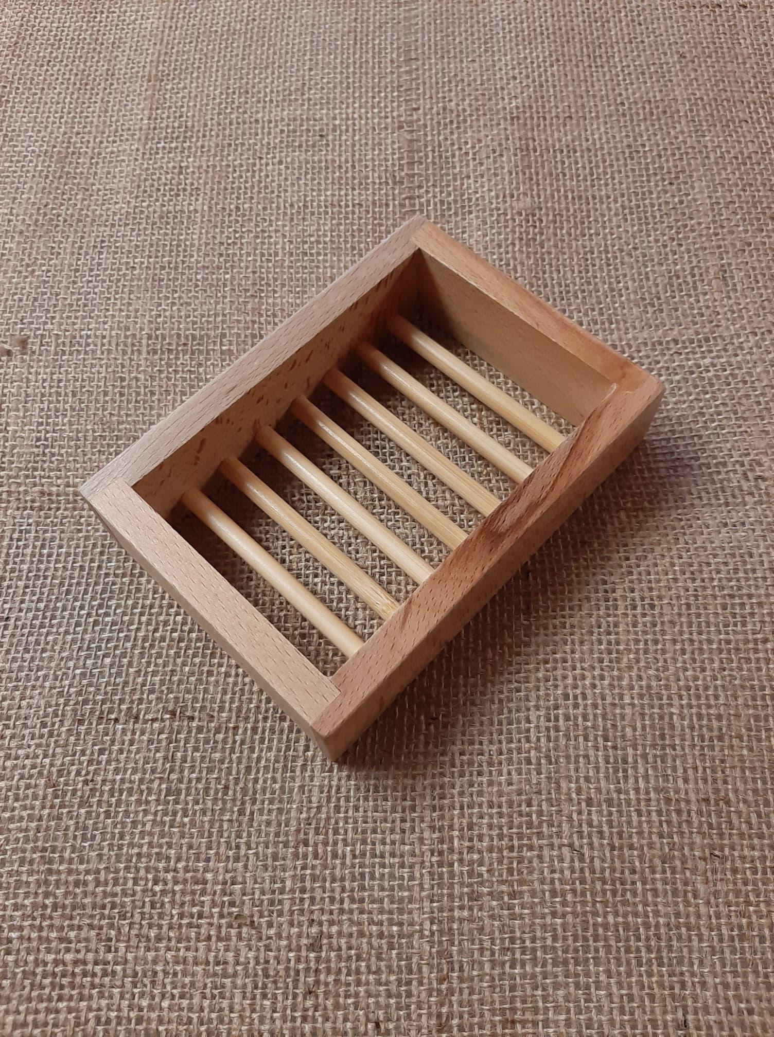 Soap Dish Box Platane Wood