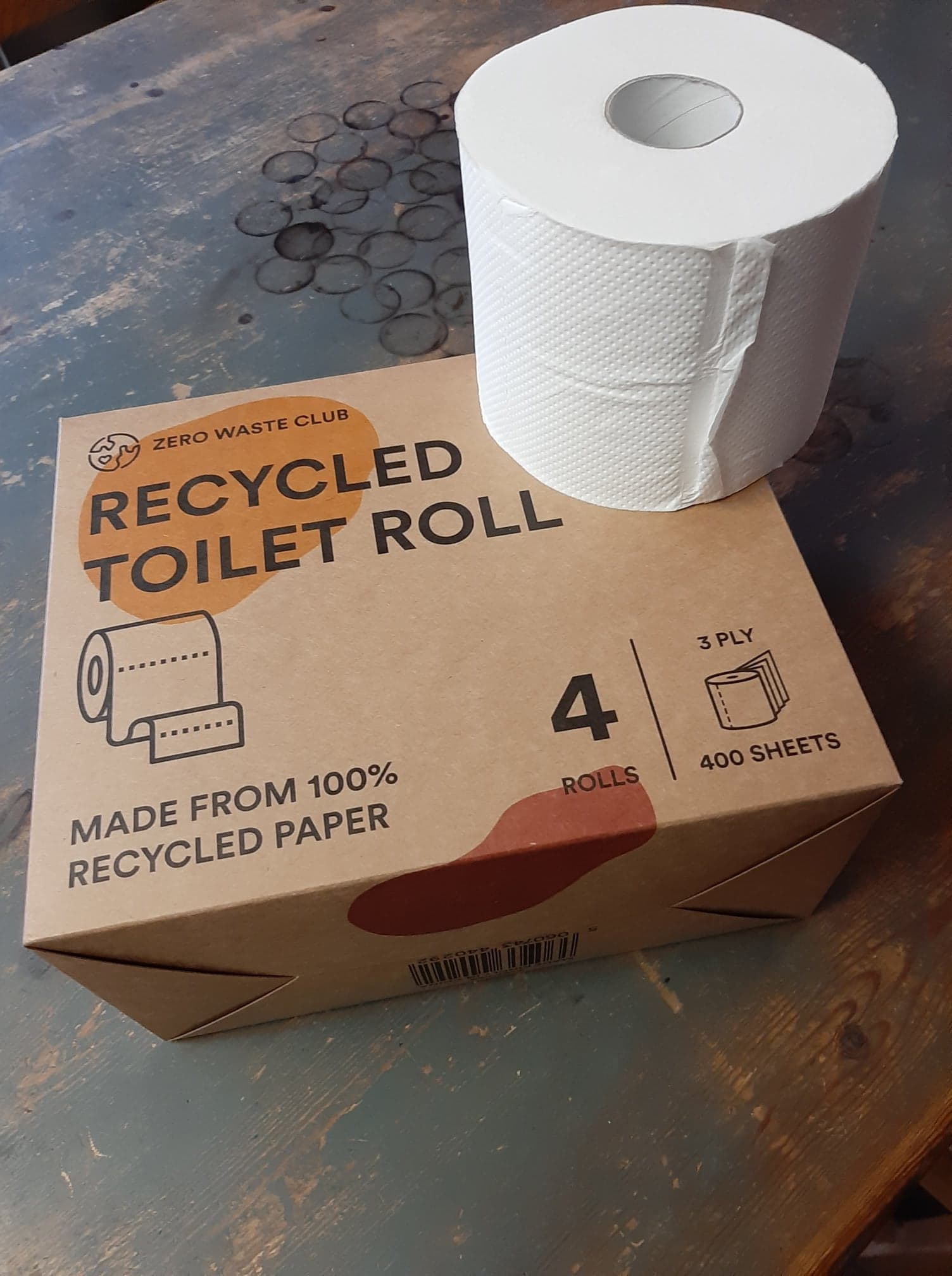 Recycled Toilet Roll - Zero Waste Club