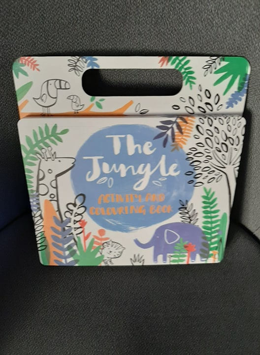 Jungle Colouring & Activity Book