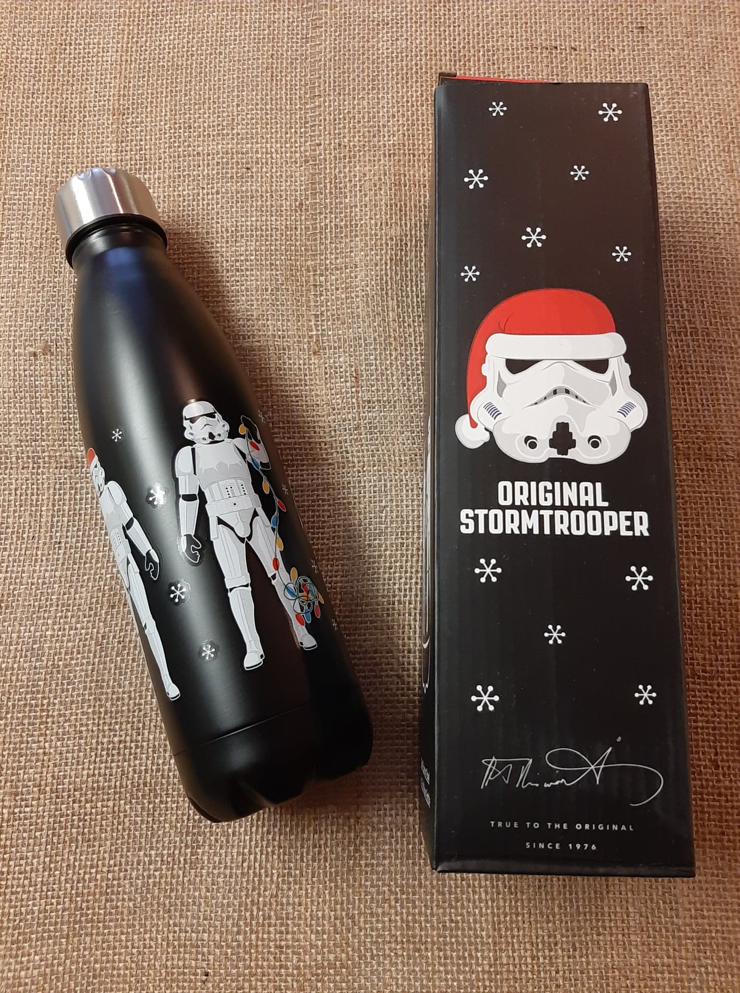 The Original Stormtrooper Reusable Stainless Steel Hot & Cold Thermal Insulated Drinks Bottle 500ml