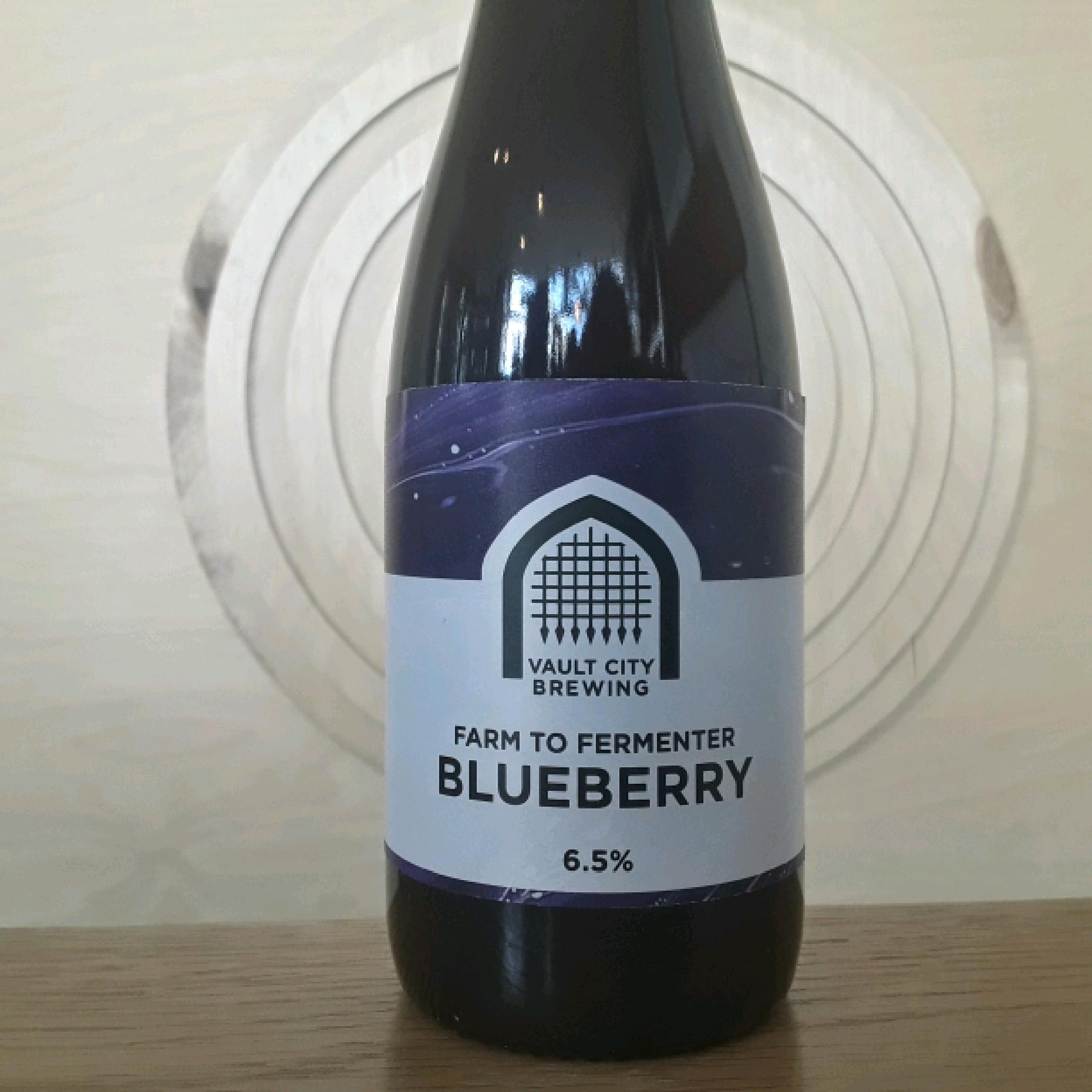 Vault City Brewing | Farm to Fermenter Blueberry | Sour